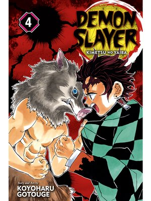 cover image of Demon Slayer: Kimetsu no Yaiba, Volume 4