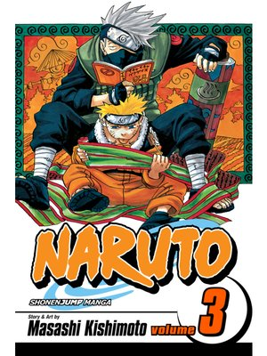 cover image of Naruto, Volume 3