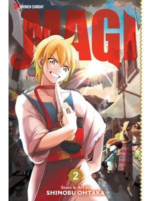 cover image of Magi: The Labyrinth of Magic, Volume 2