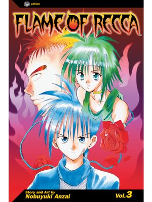 cover image of Flame of Recca, Volume 3