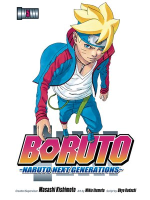 cover image of Boruto: Naruto Next Generations, Volume 5