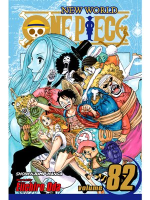 cover image of One Piece, Volume 82
