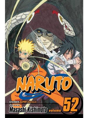 cover image of Naruto, Volume 52