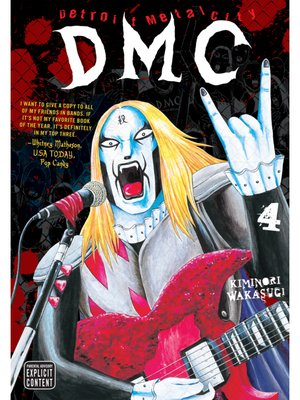 cover image of Detroit Metal City, Volume 4