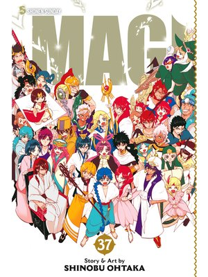 cover image of Magi: The Labyrinth of Magic, Volume 37
