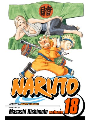 cover image of Naruto, Volume 18