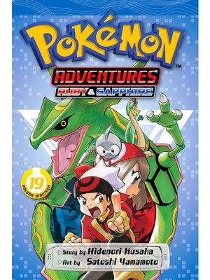cover image of Pokémon Adventures, Volume 19