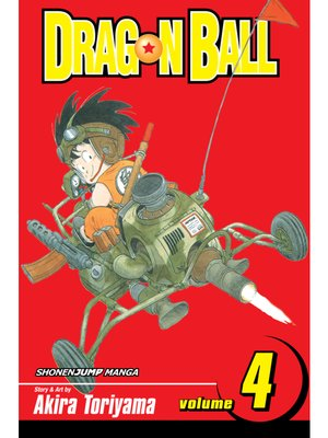 cover image of Dragon Ball, Volume 4