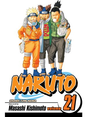 cover image of Naruto, Volume 21