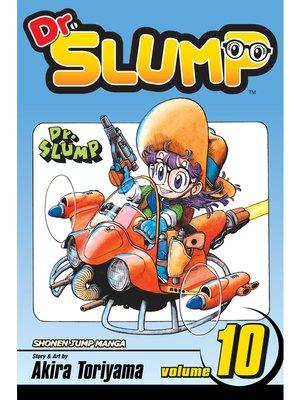 cover image of Dr. Slump, Volume 10