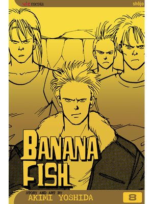cover image of Banana Fish, Volume 8
