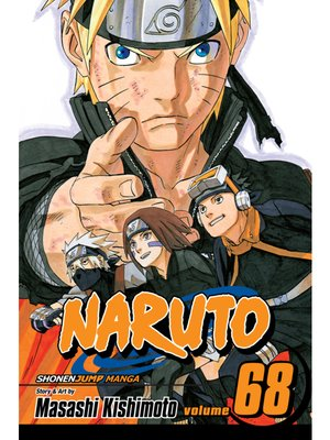 cover image of Naruto, Volume 68
