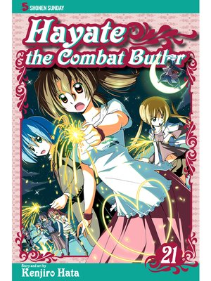 cover image of Hayate the Combat Butler, Volume 21