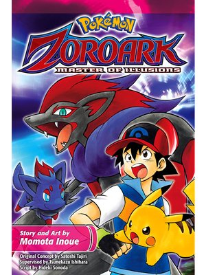 cover image of Zoroark: Master of Illusions
