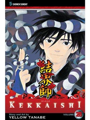 cover image of Kekkaishi, Volume 28