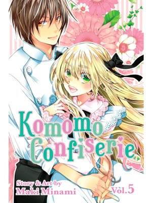 cover image of Komomo Confiserie, Volume 5