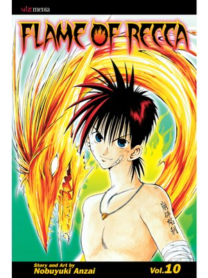 cover image of Flame of Recca, Volume 10