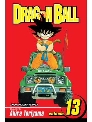 cover image of Dragon Ball, Volume 13