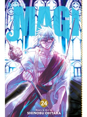 cover image of Magi: The Labyrinth of Magic, Volume 24