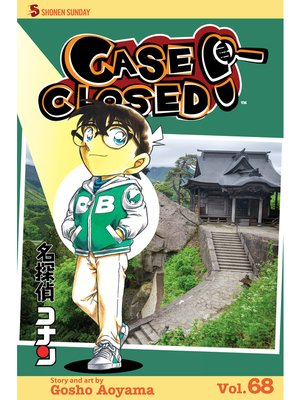 cover image of Case Closed, Volume 68