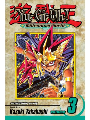cover image of Yu-Gi-Oh!: Millennium World, Volume 3