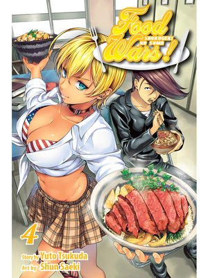 cover image of Food Wars!: Shokugeki no Soma, Volume 4