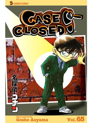 cover image of Case Closed, Volume 65