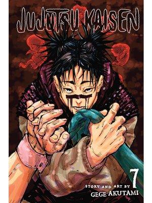cover image of Jujutsu Kaisen, Volume 7