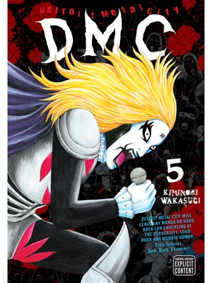 cover image of Detroit Metal City, Volume 5