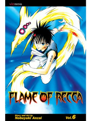 cover image of Flame of Recca, Volume 6