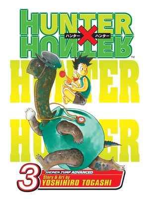 cover image of Hunter x Hunter, Volume 3