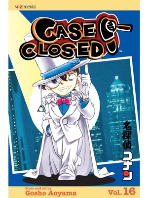 cover image of Case Closed, Volume 16