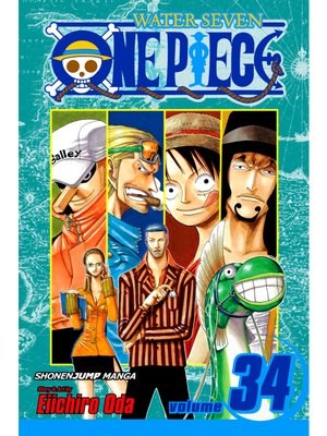 cover image of One Piece, Volume 34