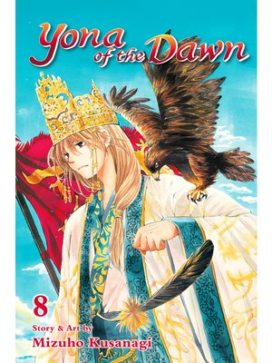 cover image of Yona of the Dawn, Volume 8