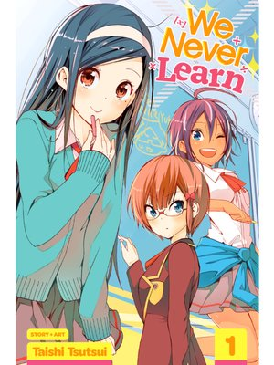 cover image of We Never Learn, Volume 1