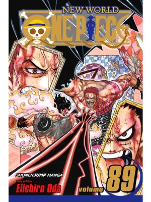 cover image of One Piece, Volume 89