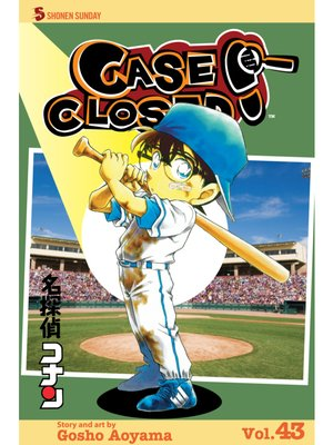 cover image of Case Closed, Volume 43