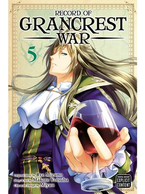 cover image of Record of Grancrest War, Volume 5