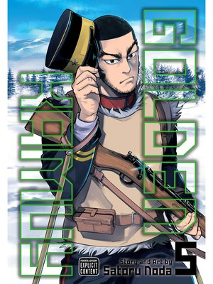 cover image of Golden Kamuy, Volume 5