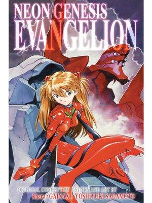 cover image of Neon Genesis Evangelion 3-in-1 Edition, Volume 3