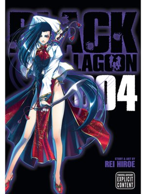 cover image of Black Lagoon, Volume 4