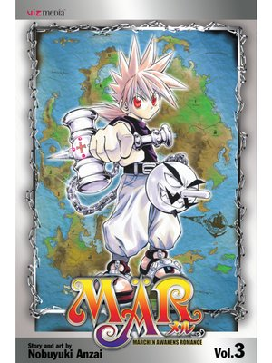 cover image of MÄR, Volume 3