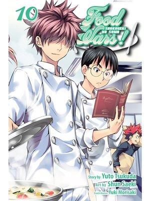 cover image of Food Wars!: Shokugeki no Soma, Volume 10