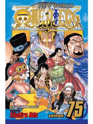 cover image of One Piece, Volume 75