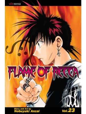 cover image of Flame of Recca, Volume 23