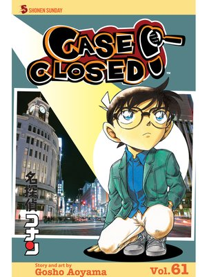 cover image of Case Closed, Volume 61