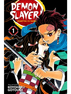 cover image of Demon Slayer: Kimetsu no Yaiba, Volume 1