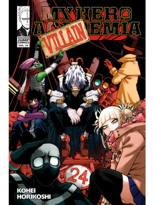 cover image of My Hero Academia, Volume 24