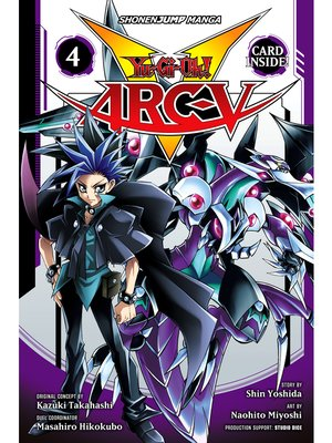 cover image of Yu-Gi-Oh! Arc-V, Volume 4