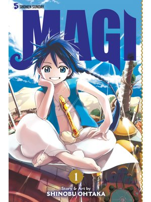 cover image of Magi: The Labyrinth of Magic, Volume 1